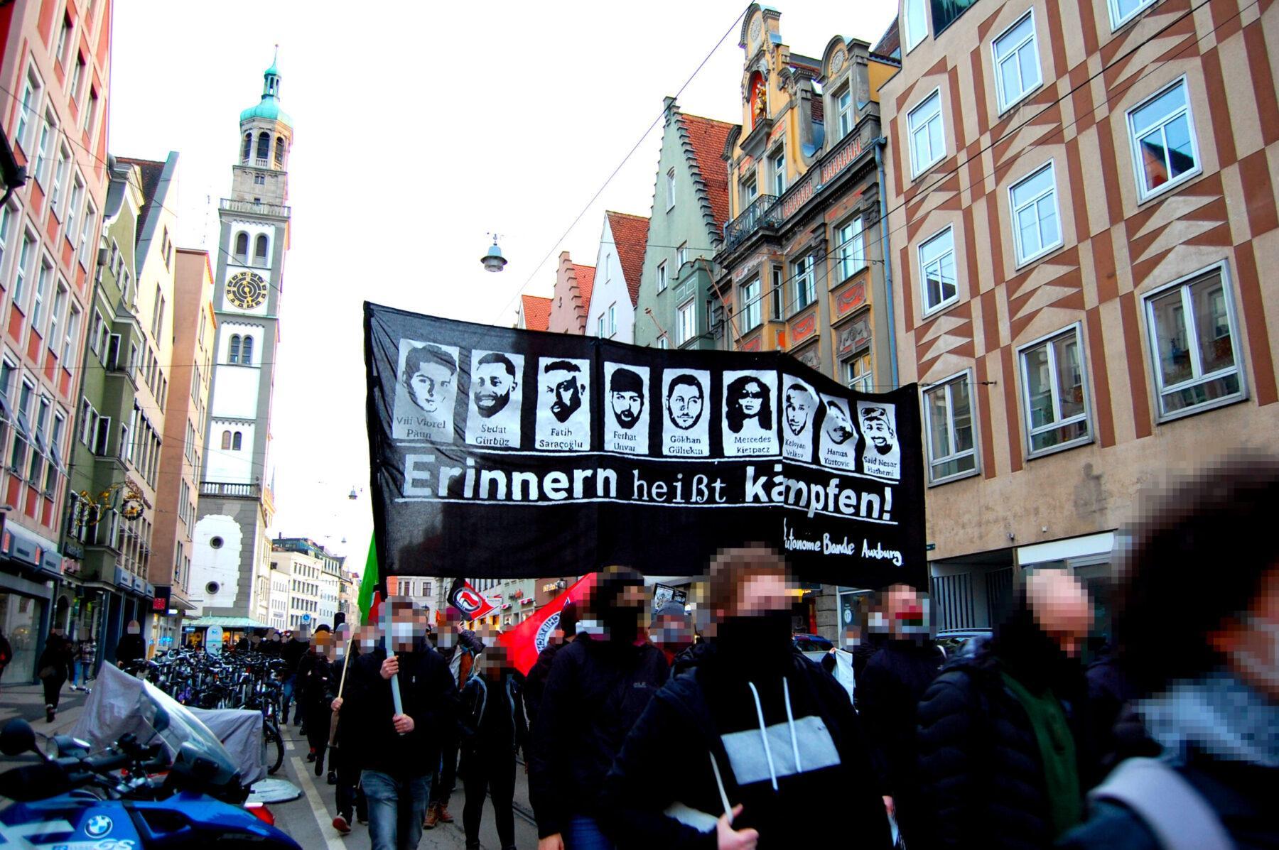 Demo Bericht – EIN JAHR HANAU: NICHTS PASSIERT!