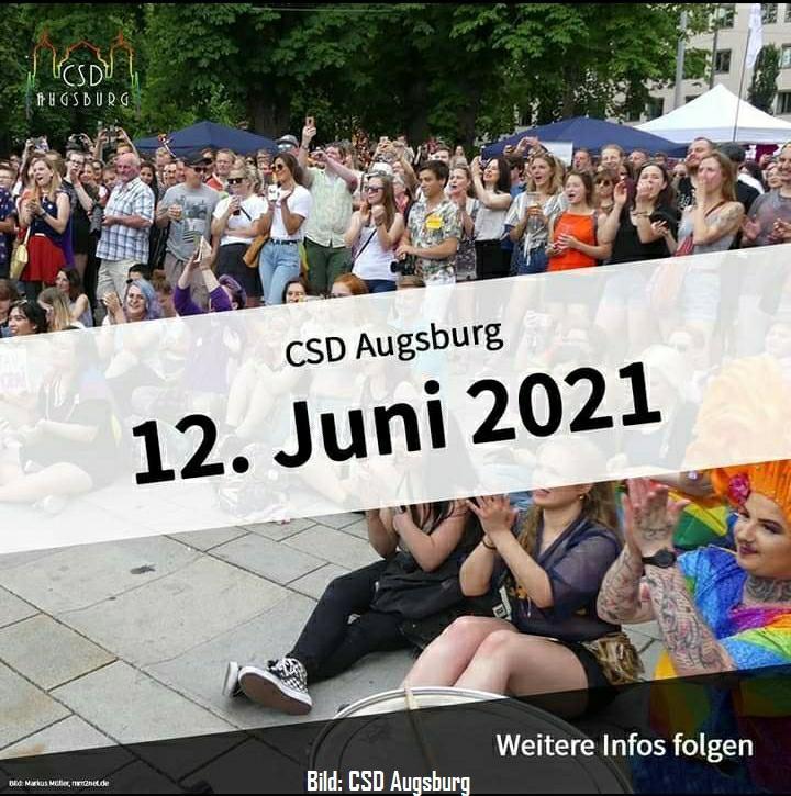 """CSD Augsburg 2021 – """"Diversity United"""" oder: Vom Transzustand der Toleranz"""